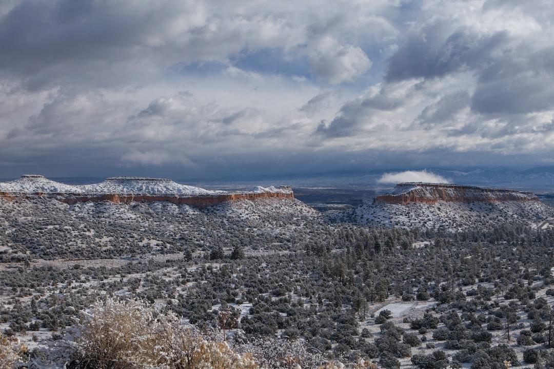 Snow on the Mesas