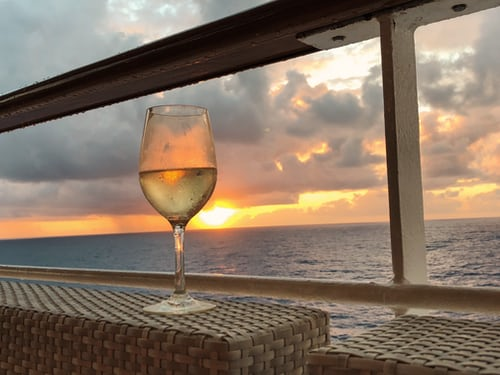Sunsets in mMaldives cruise