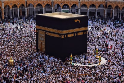 kaaba mecca, saudi arabia ramadan zoom background