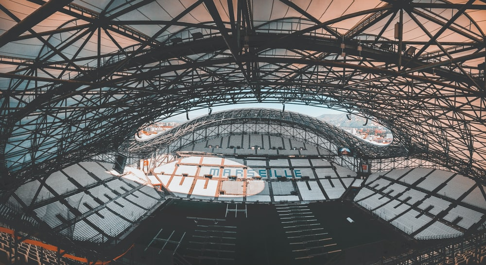 structural photo of stadium