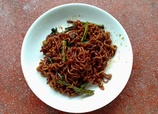 cooked noodle