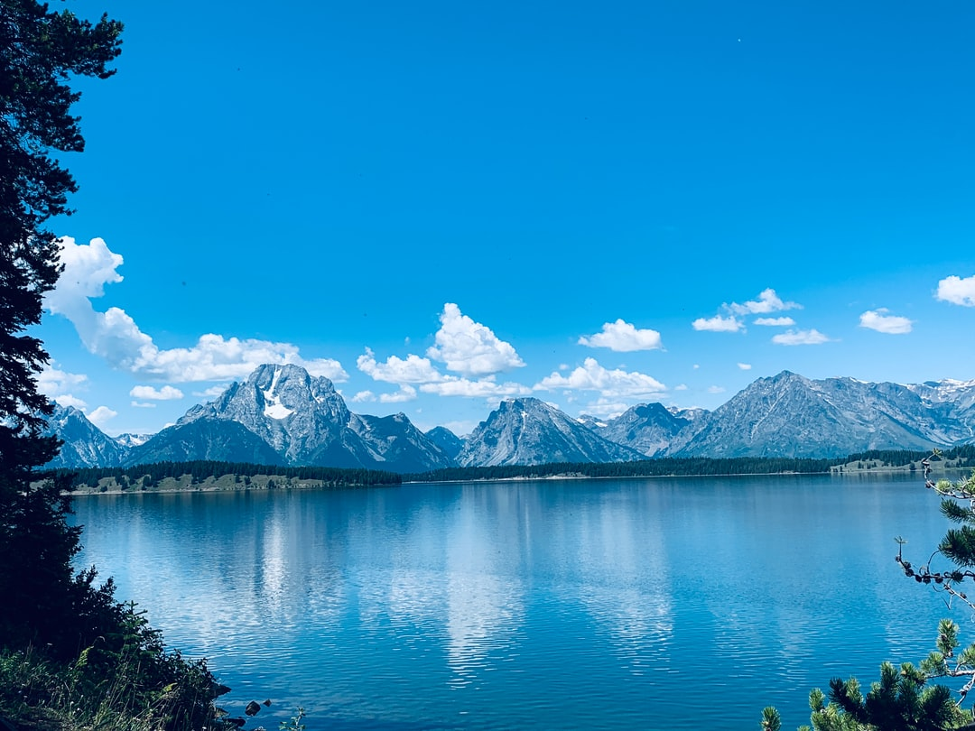 Grand Teton National Park near Jackson, Wyoming, a road trip of a lifetime visiting National Parks in 5 states within 2 weeks.