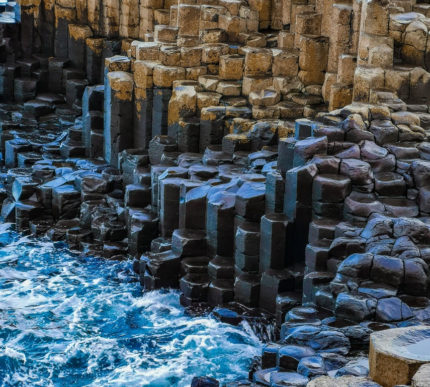 polygonal stones of Giant causeway