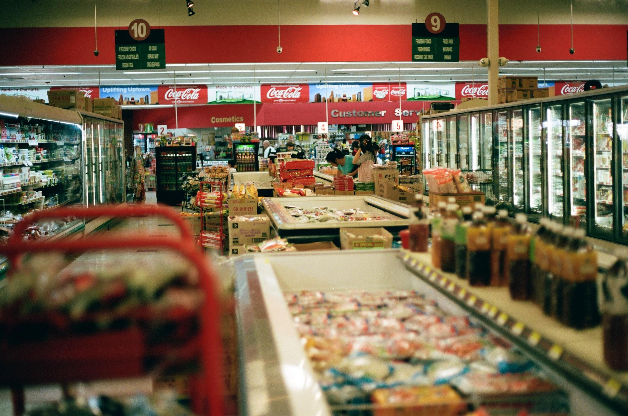 Energieeffizienz im Lebensmittelladen