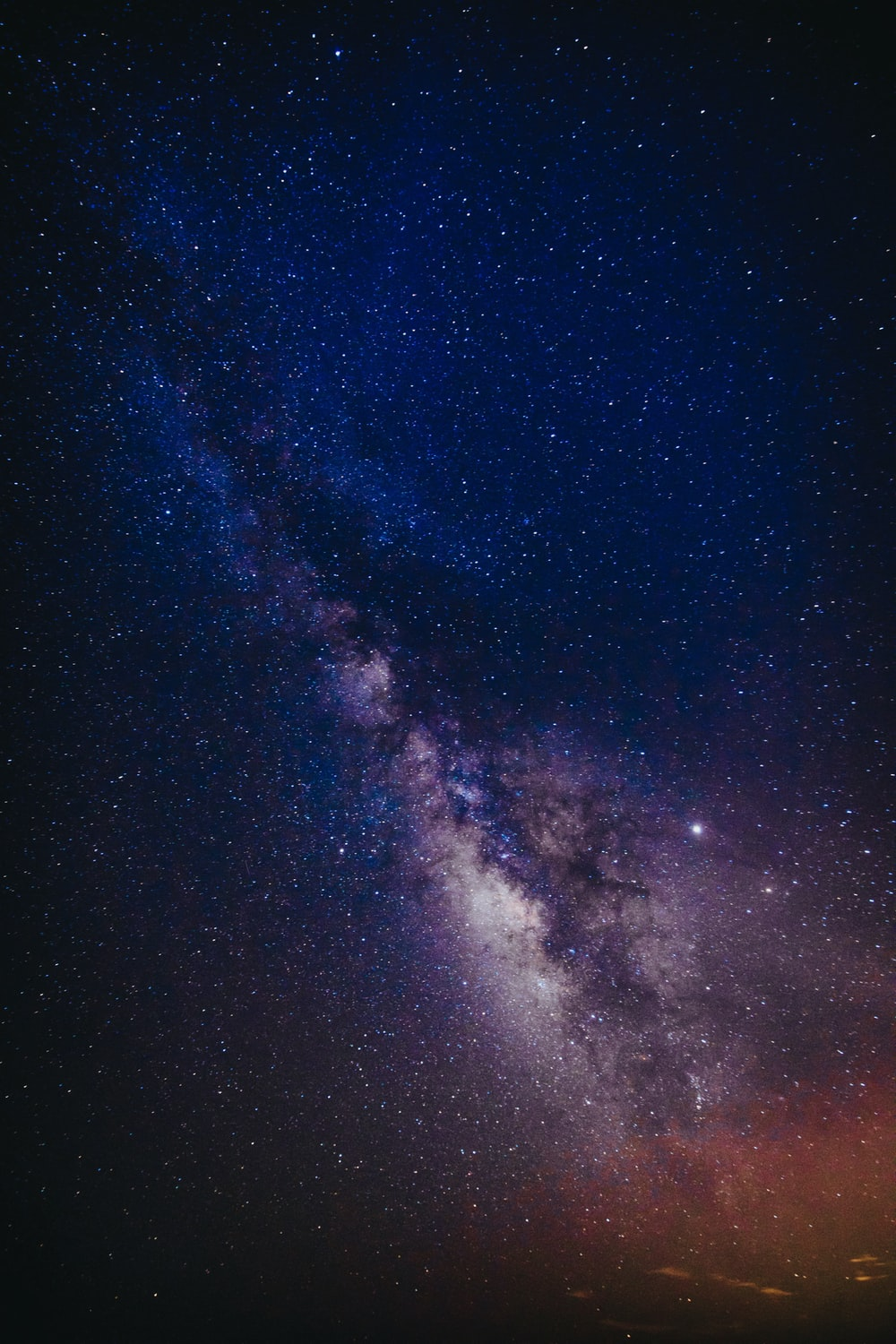 milky way at night
