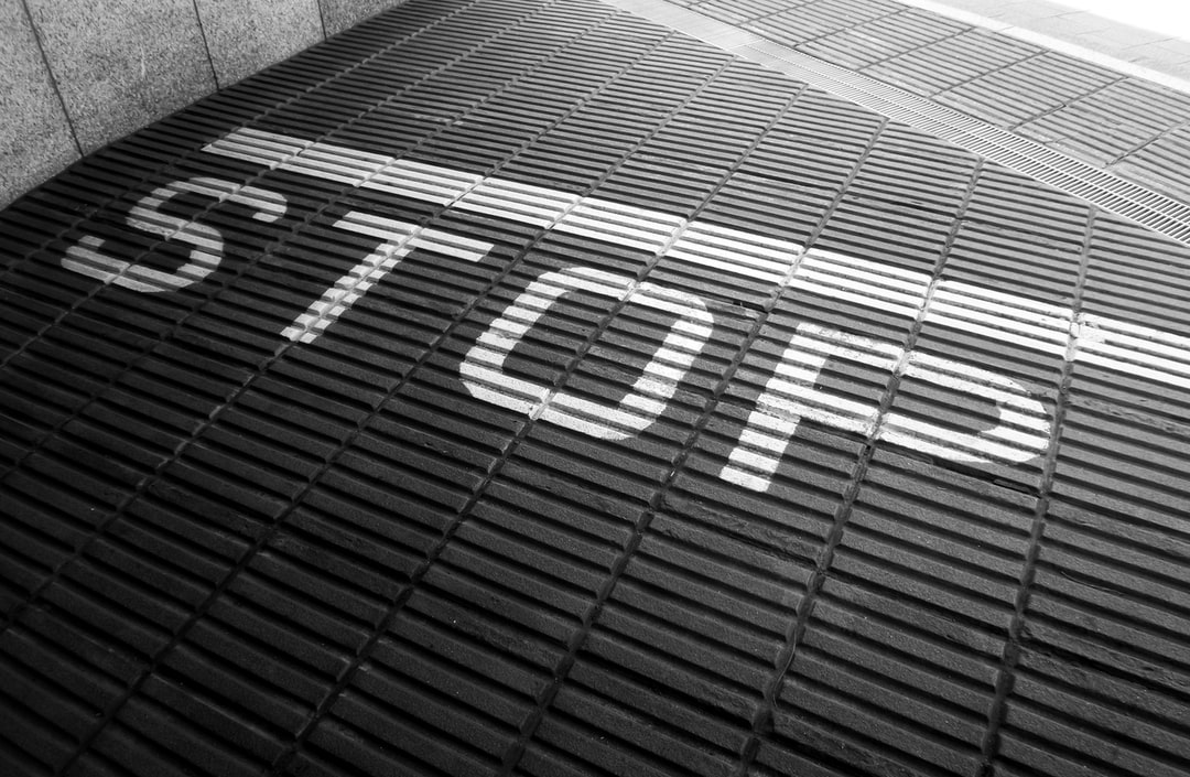 Inclined To Stop