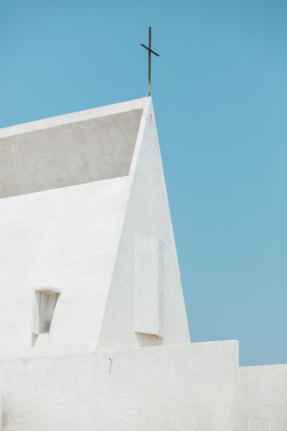 building with cross on top