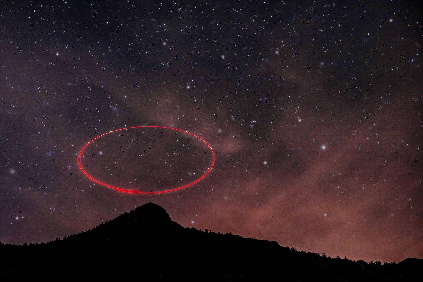 Life on Venus galaxies at night