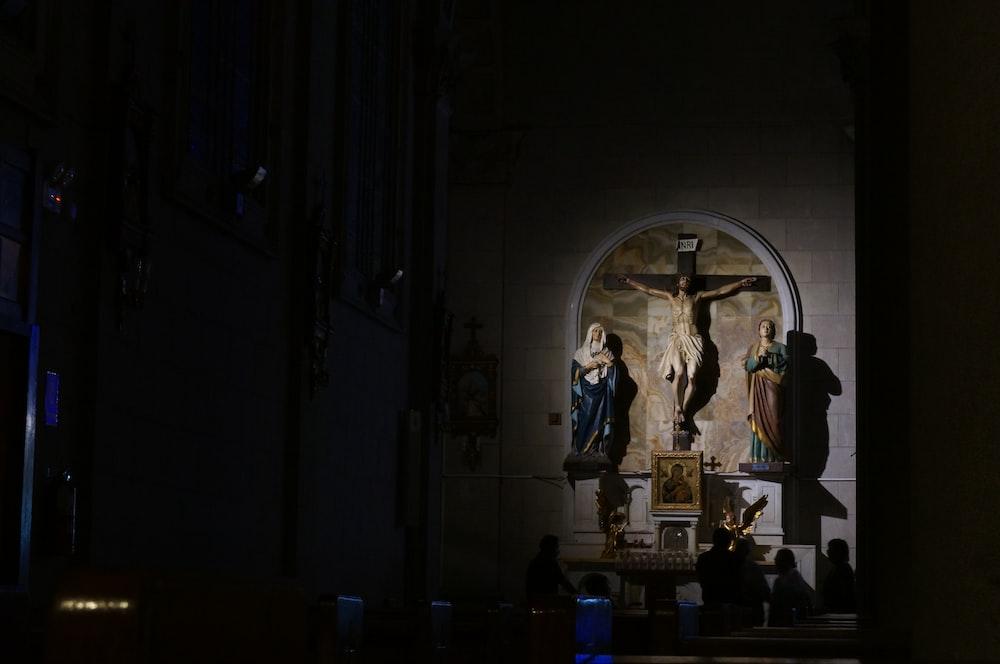 crucifix figurine