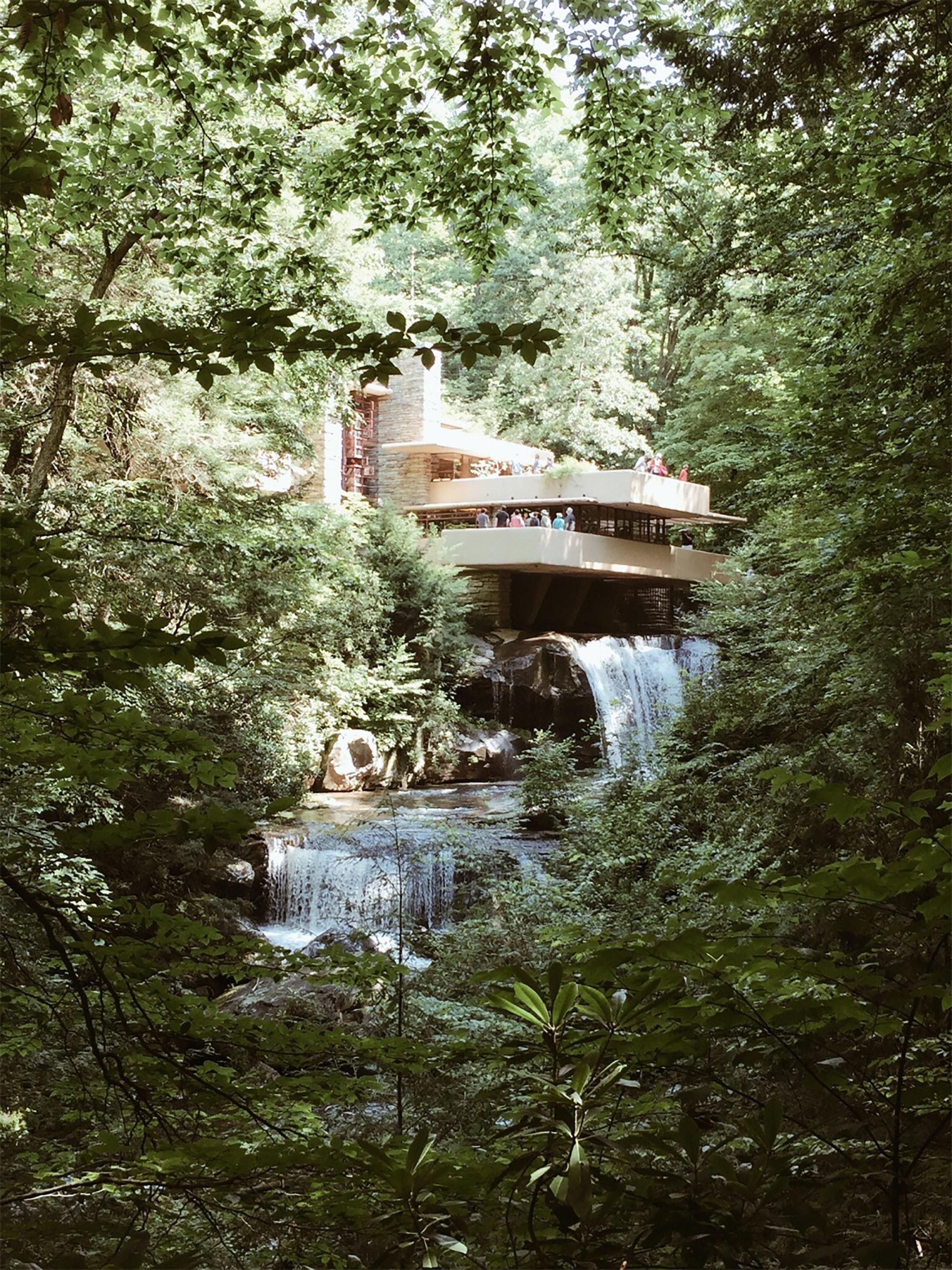 Fallingwater House, Frank Lloyd Wright, Pennsylvania