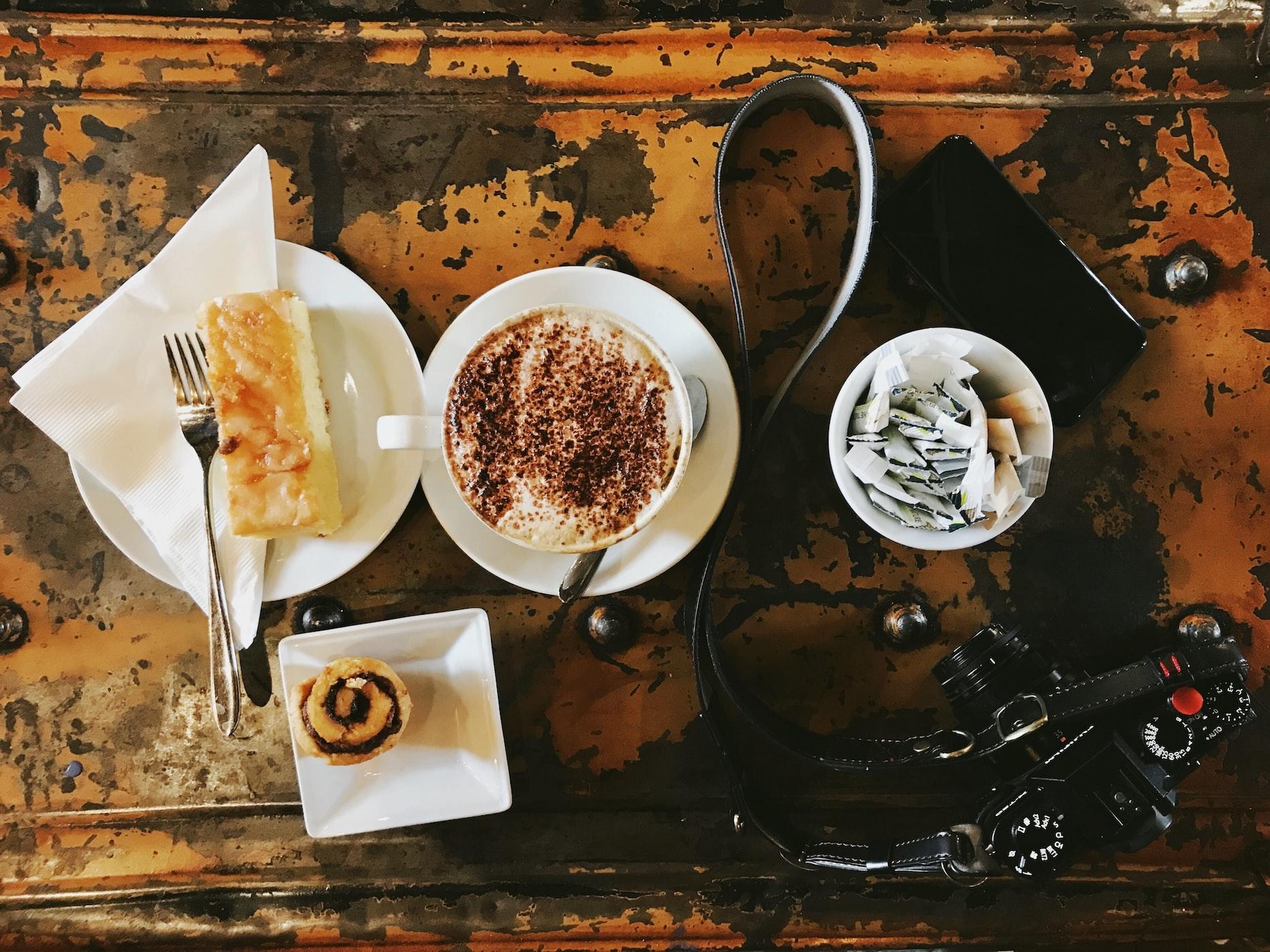 コーヒーと食卓