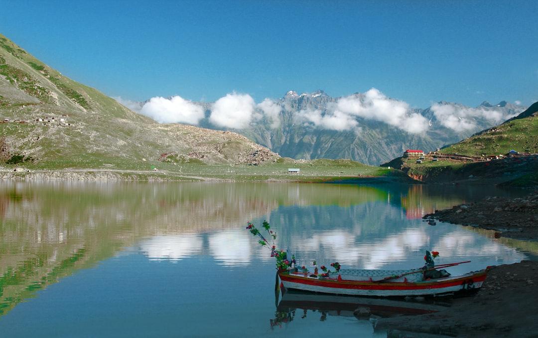 Lake (jheel) Saiful Muluk, Kaghan Valley, Pakistan