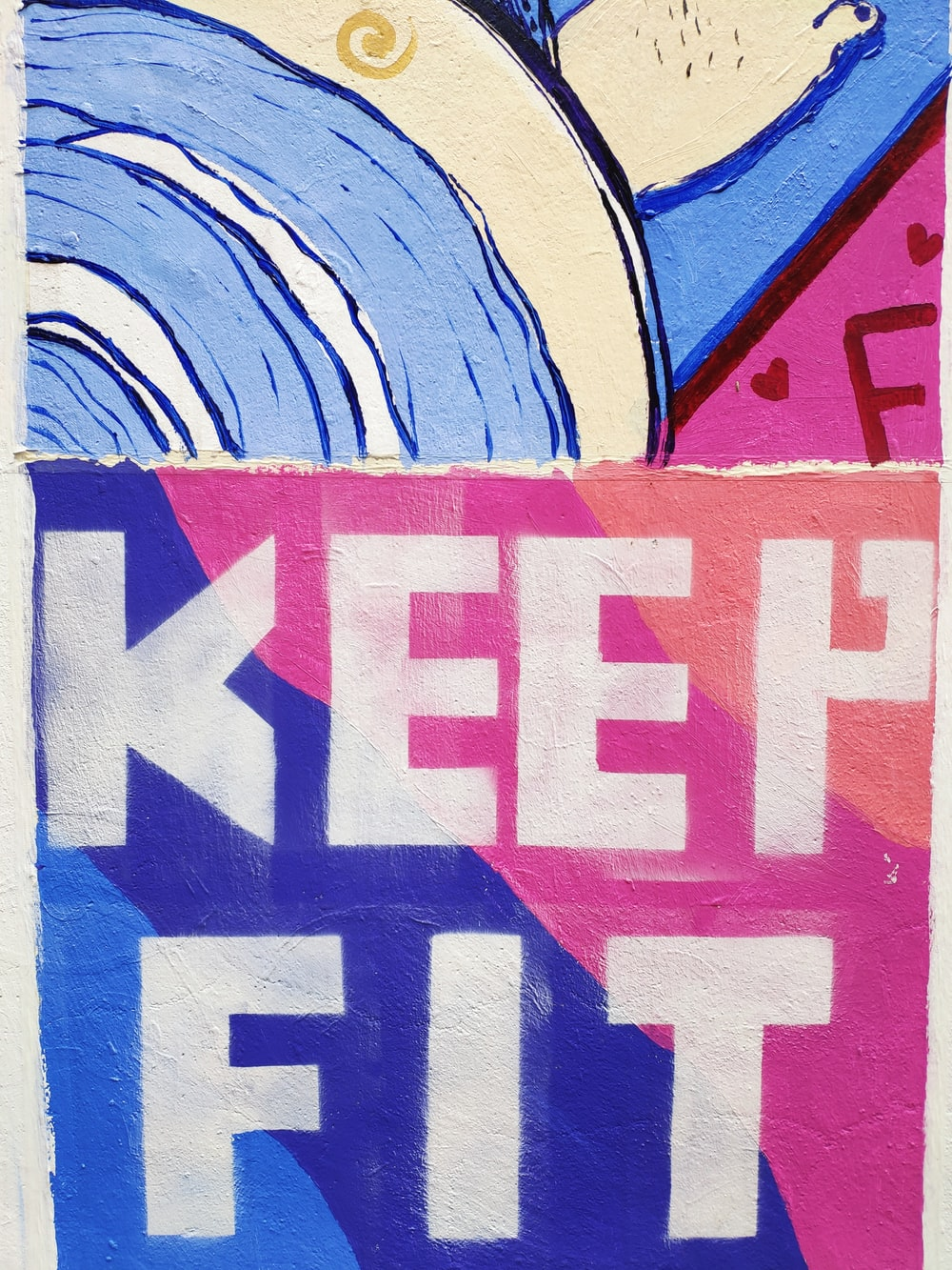keep fit painting