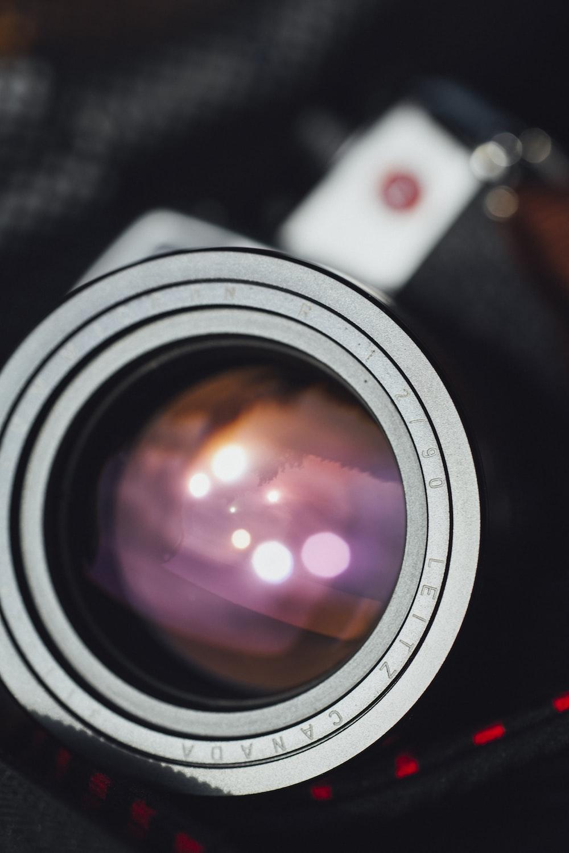 black camera photography