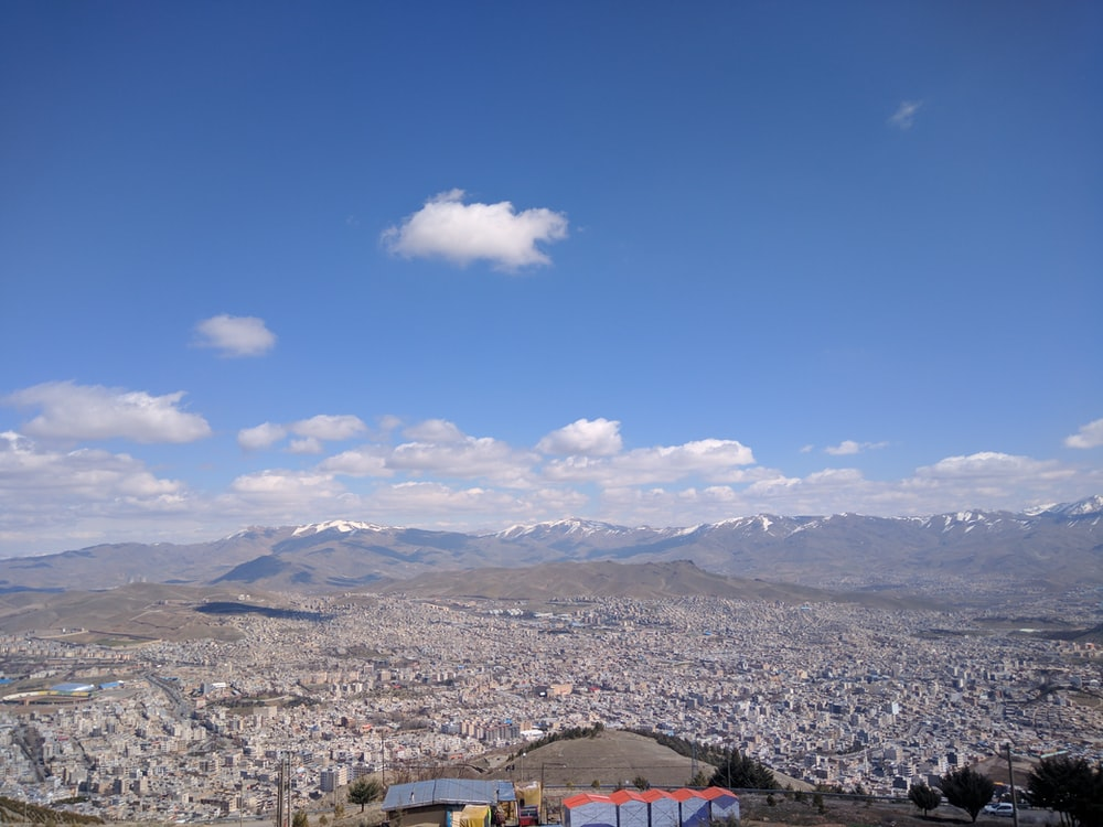 overview of mountain during daytime