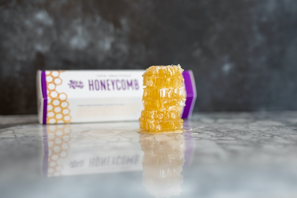 honeycomb with