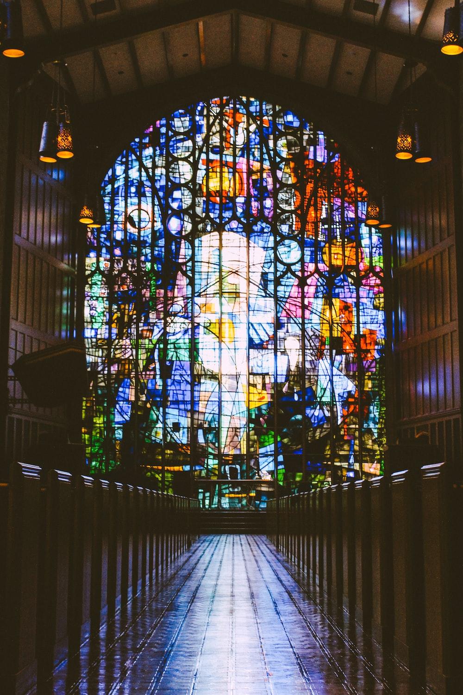 interior of empty church