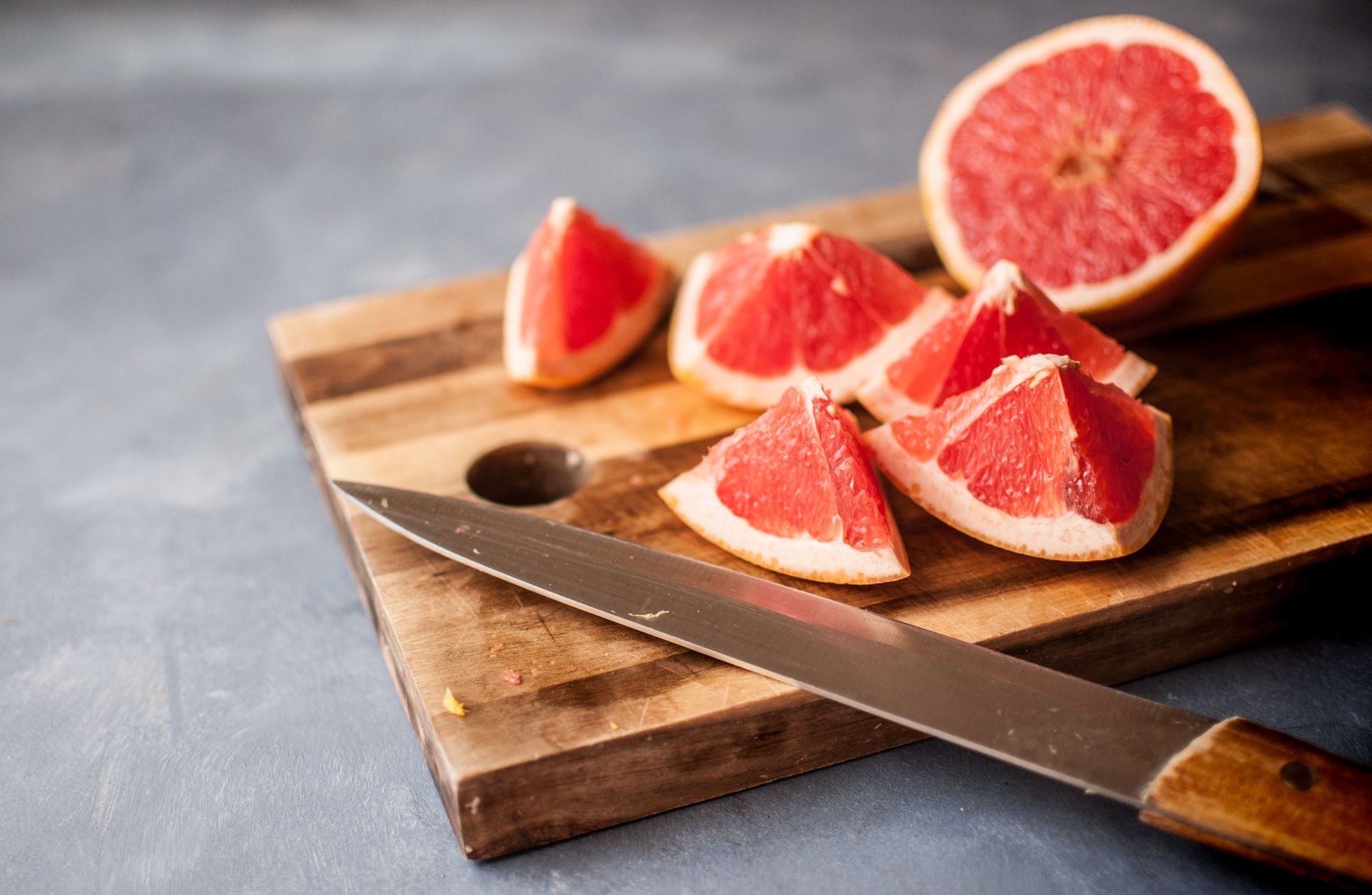 Grapefruit scent can make middle-aged women appear an average of 6 years younger to men.