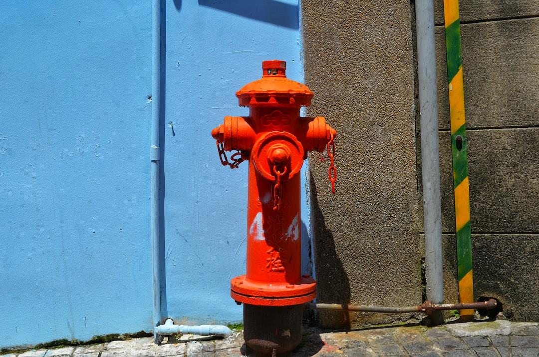Stay hydrated!  A water hydrant on the Kulangsu (Gulangyu) islet in XIamen, Fujian, China