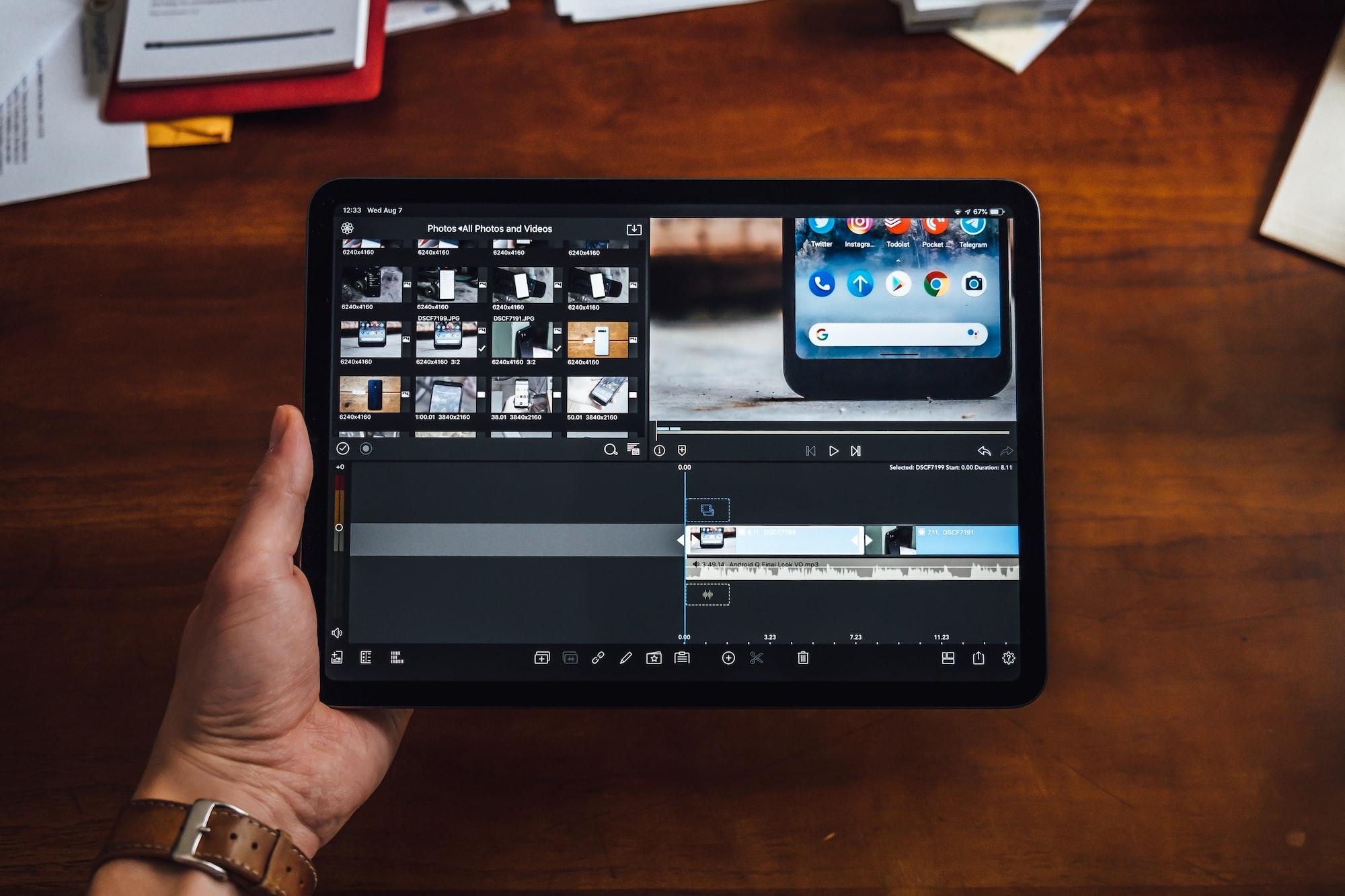 7 лучших приложений для редактирования видео на iPad Pro
