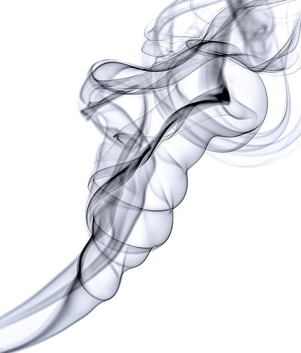 black and gray abstract art
