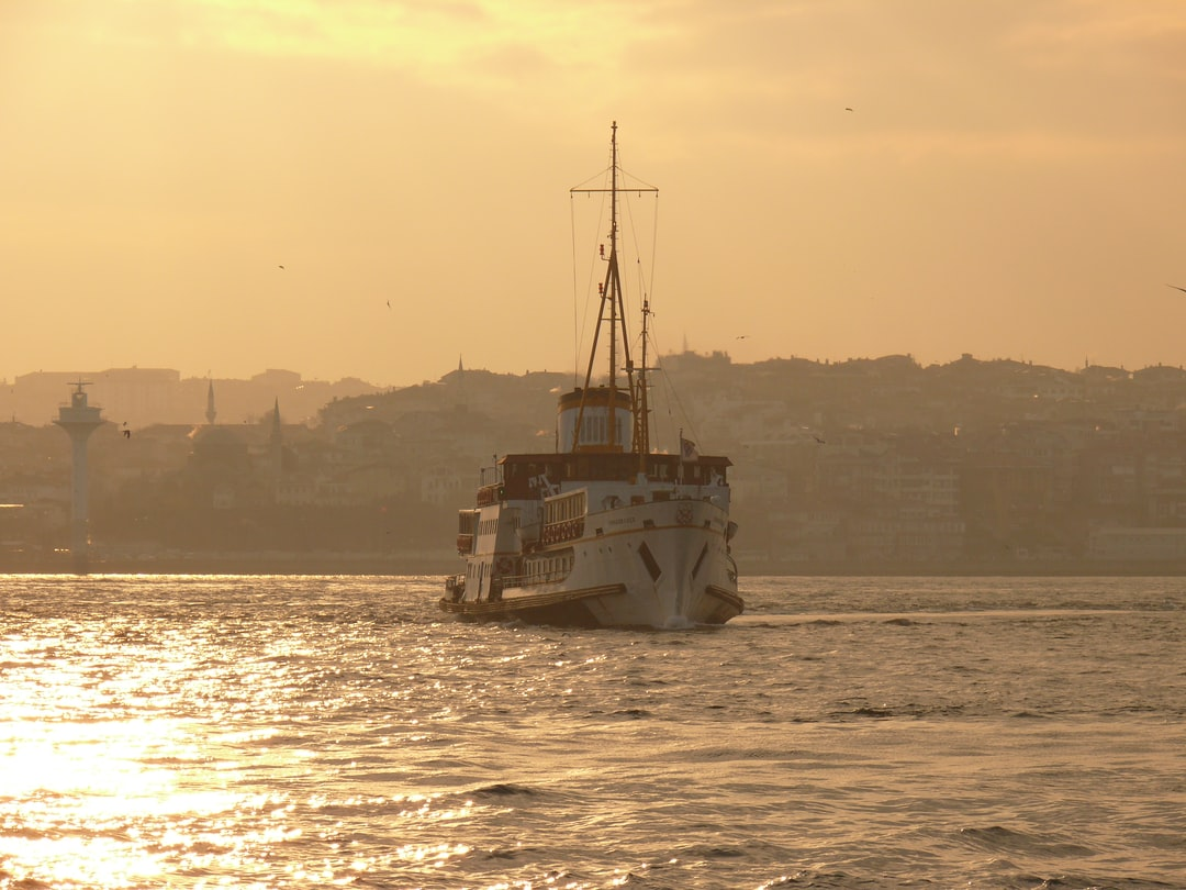 The famous steamboat named Fenerbahçe a few days before she was taken off the route and retired.