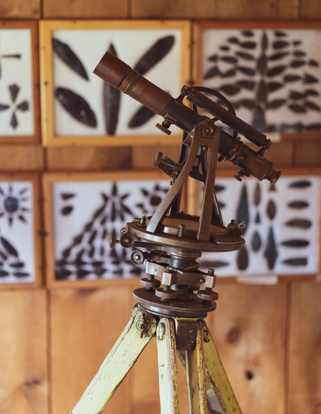 I found this gem at a roadside museum in a tiny town in the middle of nowhere. I shot it with my 55/1.8 lens to get the sharp details from this vintage surveyor tool. Not sure how I feel about the arrowhead artwork in the background... not sure how the indigenous people of this area would feel about it either... but yeah, cool telescope.