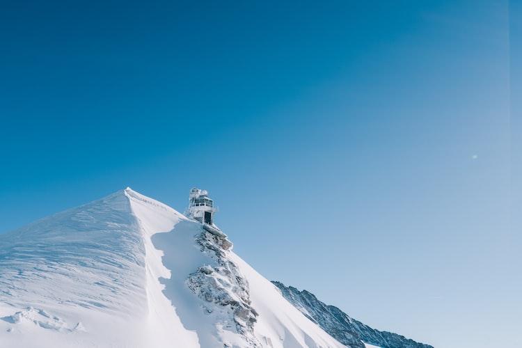 Mount Jungfraujoch in Switzerland