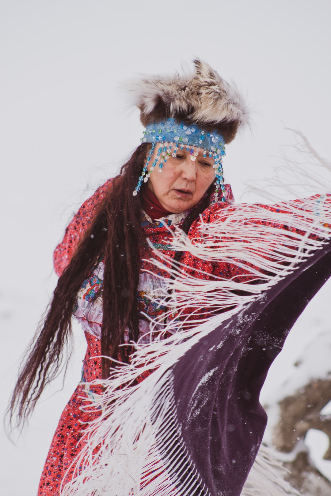 I had the privilege of photographing a traditional Native American dancer while in Barrow, Alaska