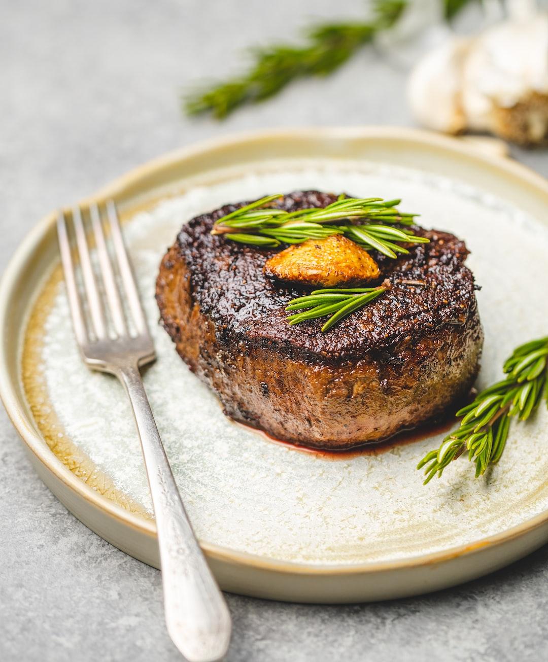 Filet Mignon. The King of steaks.