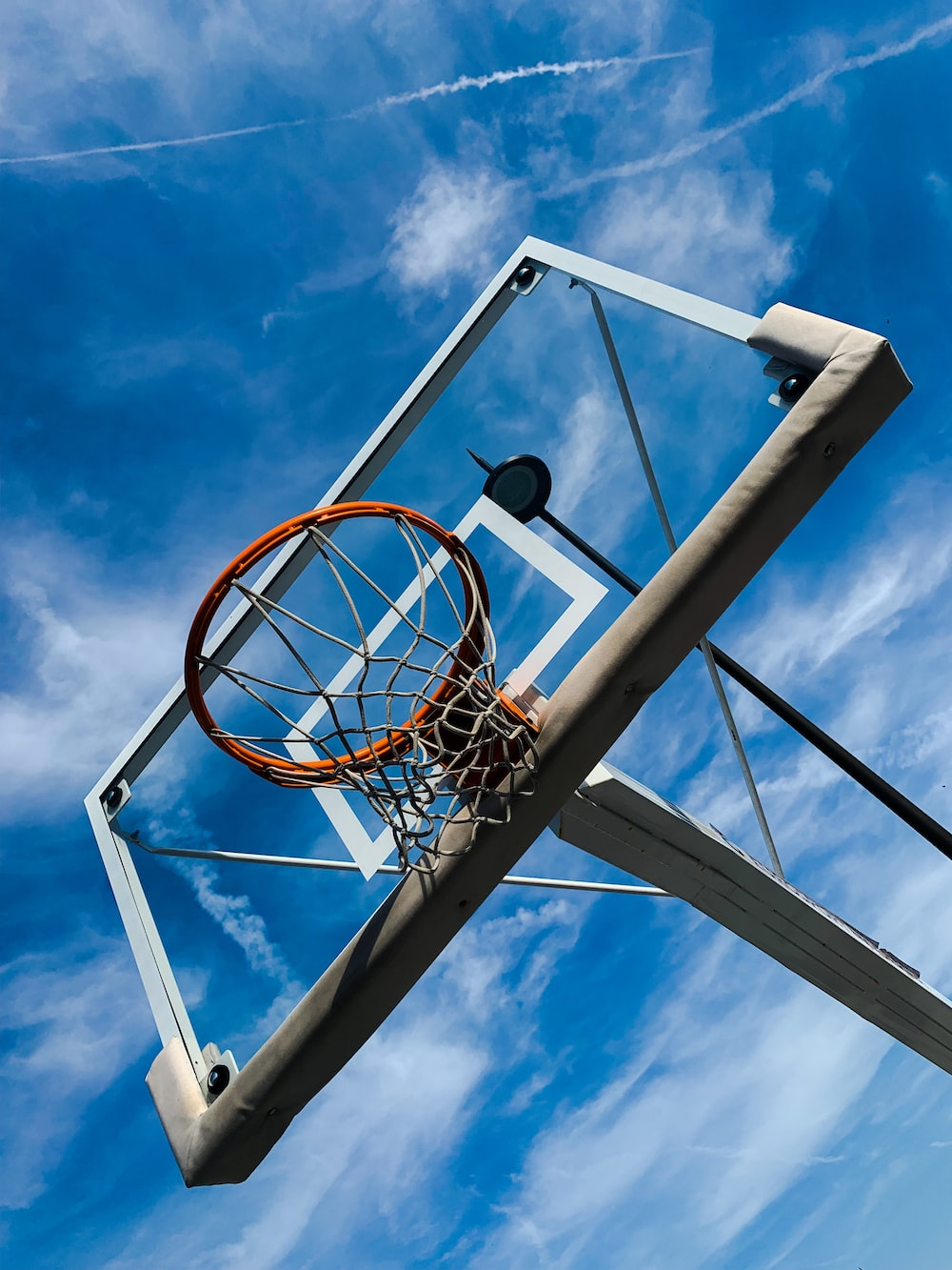 basketball hoop during day