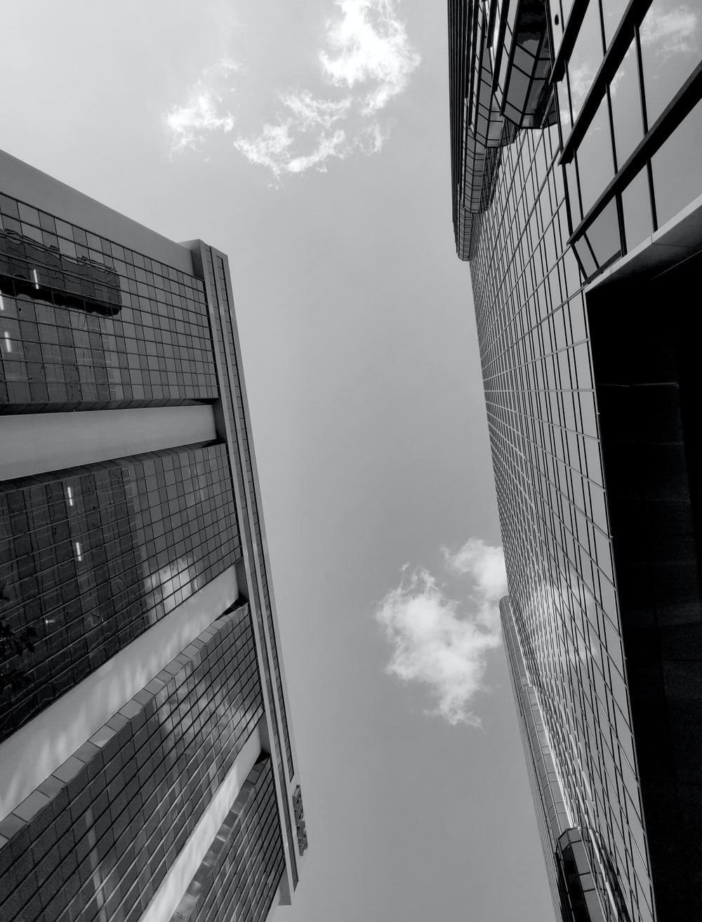 grayscape photo of buildings during daytime
