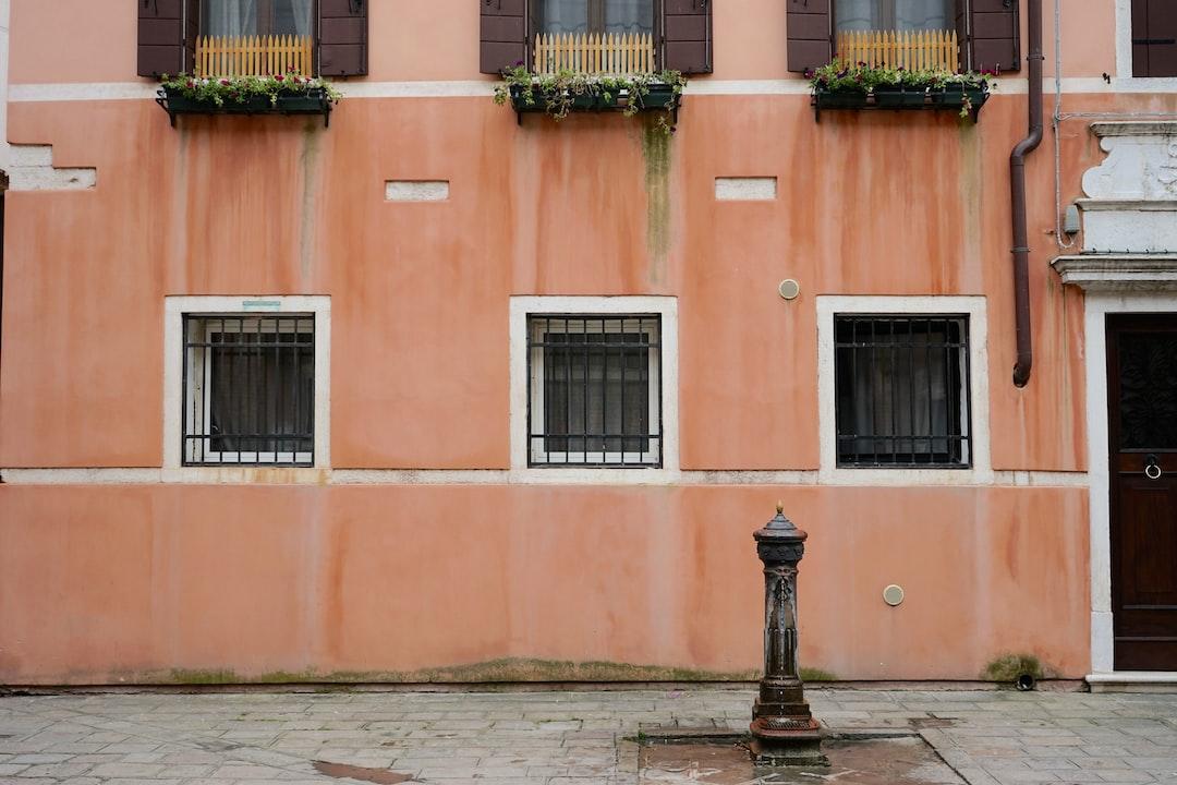A plaza in Venice, Italy.
