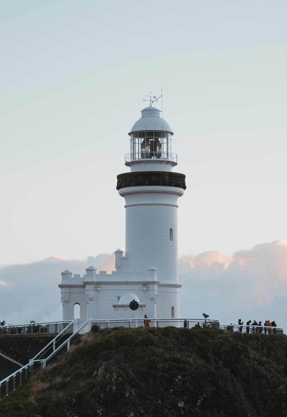 white concrete lighthouse during daytime