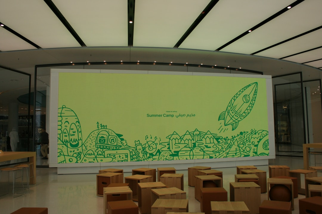 Children's Summer Camp at Apple Store in the Dubai Mall