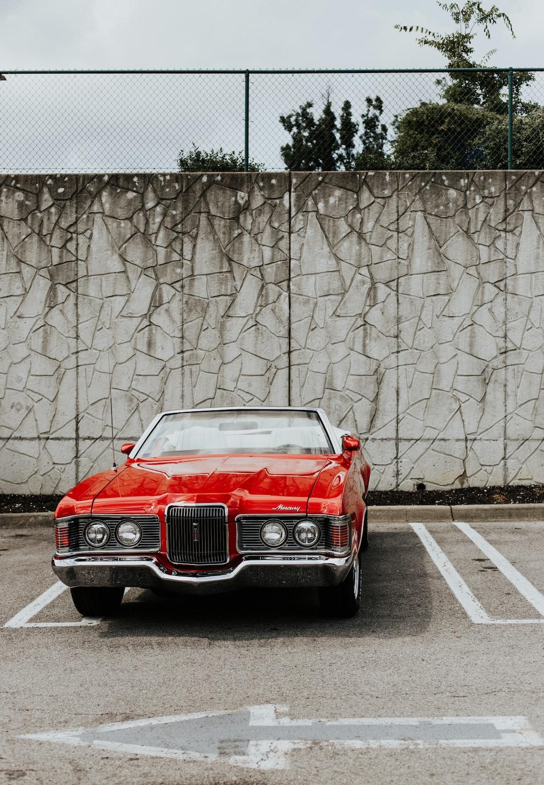Baby, let's go ride in my Mercury Cougar.
