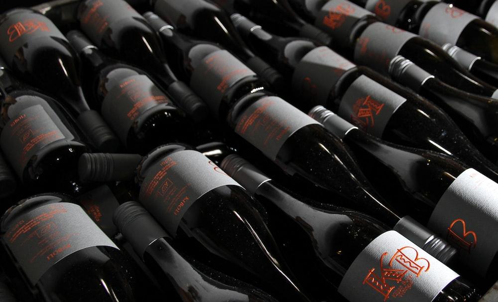 wine bottle lot