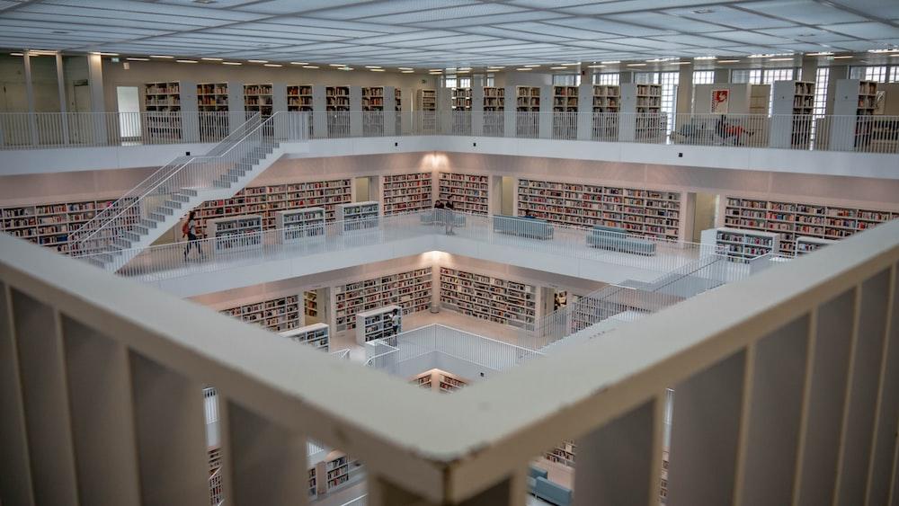 inside concrete building
