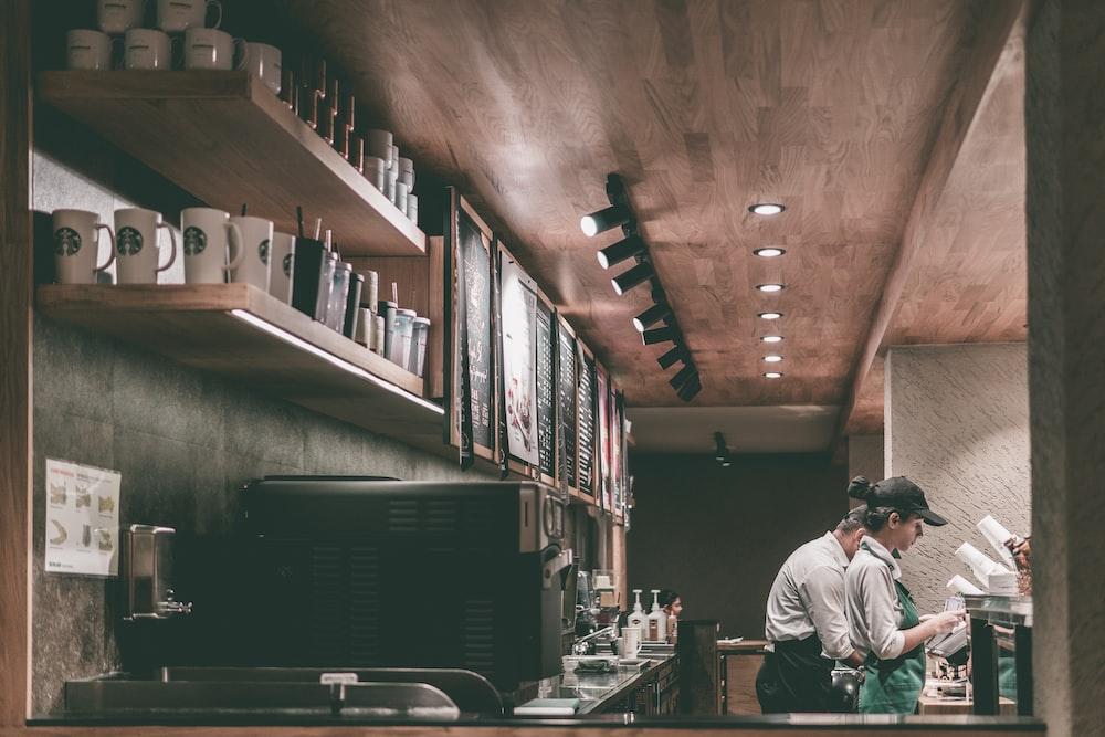 barista in coffee shop