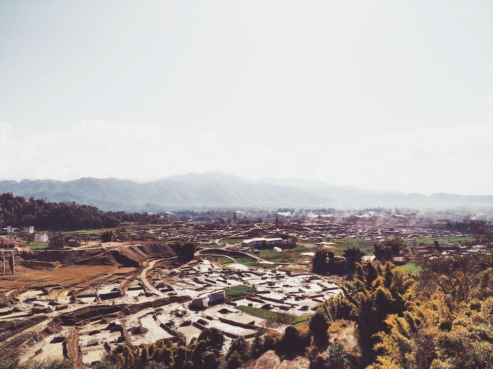 landscape during daytime