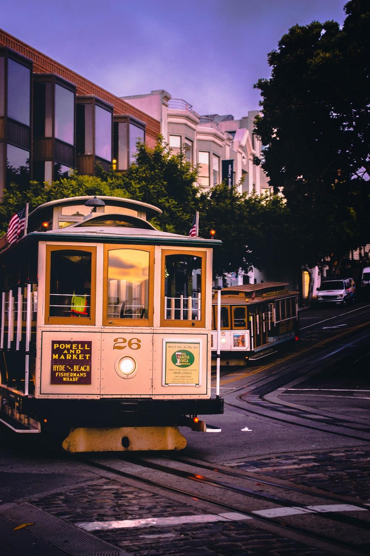 brown train