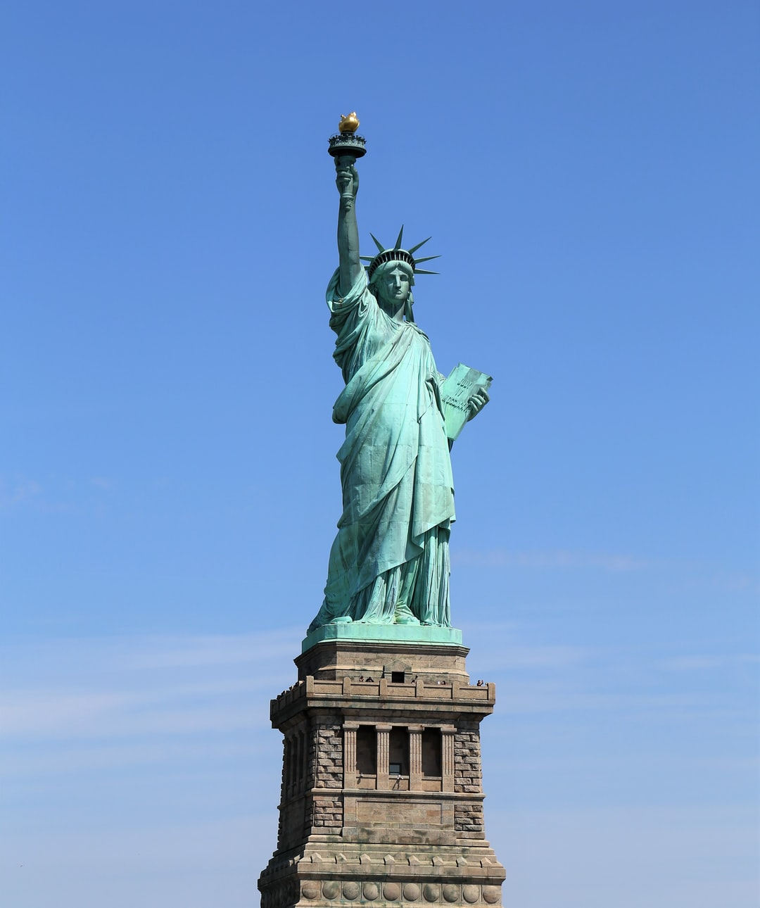 Statue Of Liberty, a rusting gift.