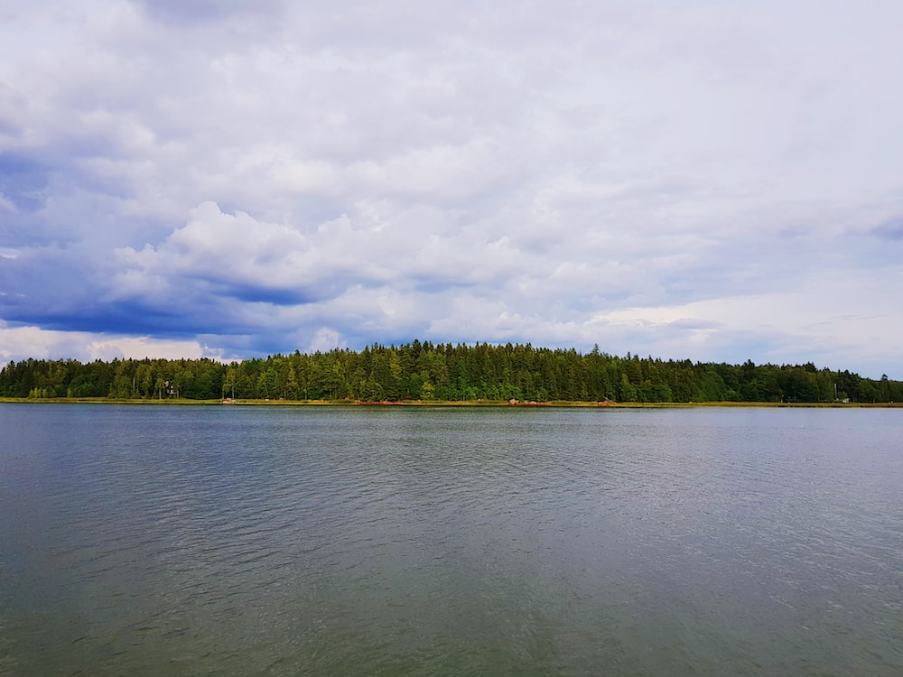 body of water and island