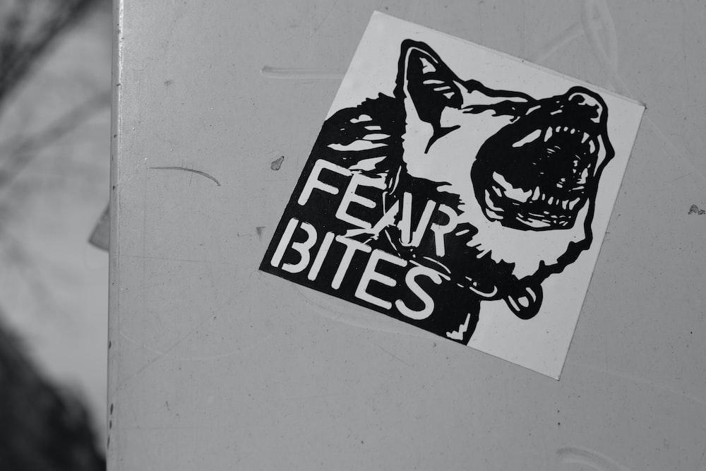 Fears Bites sticker