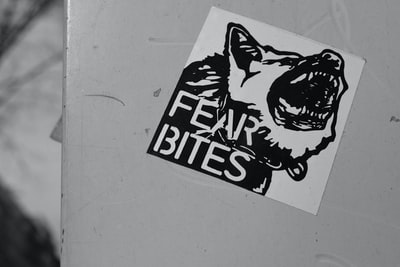 Fears Bites sticker
