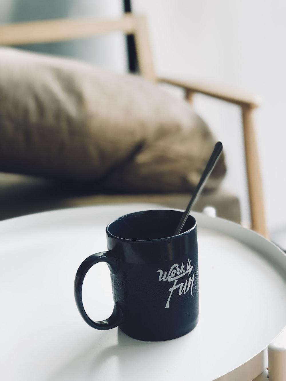 spoon in mug