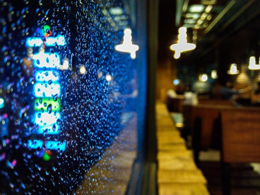 shop window glass