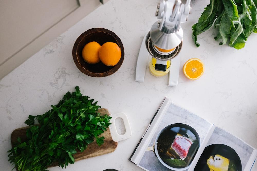 lemon and celery