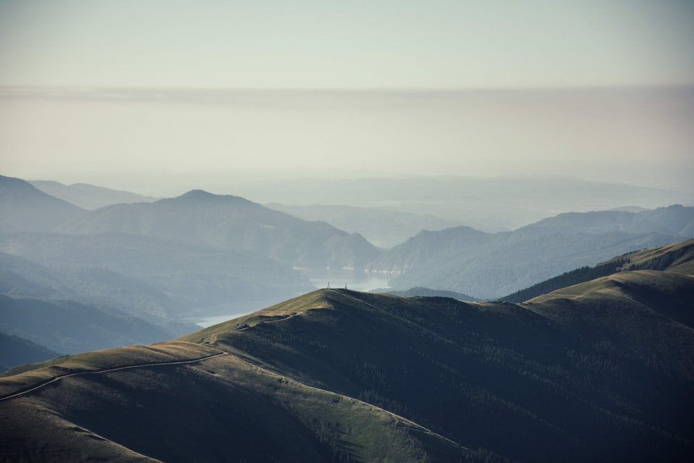 landscape photo of mountains during daytime