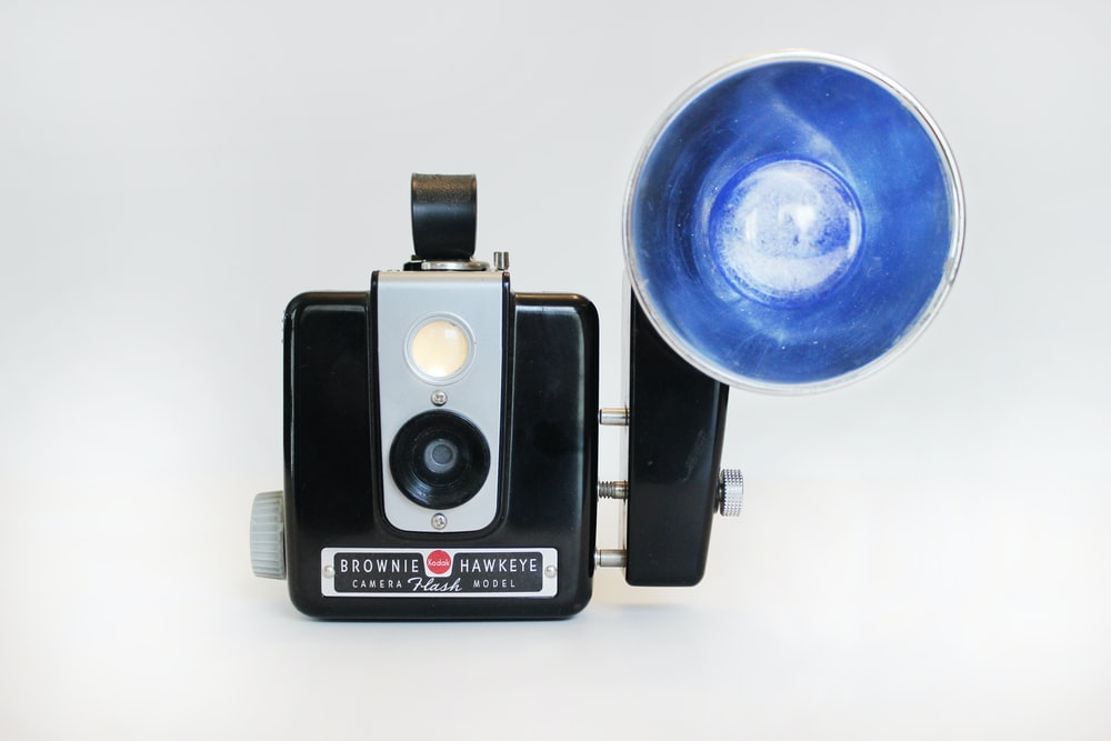 black Brownie Hawkeye camera